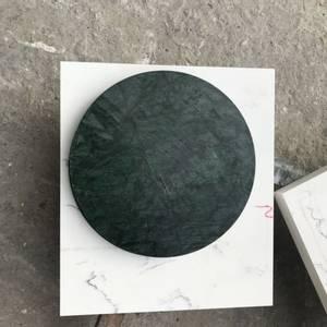 Bilde av Marmorbord i Green Verde med 50 cm diameter