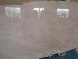 Bilde av Marmorbord i Crema i 60 cm * 60 cm med understell